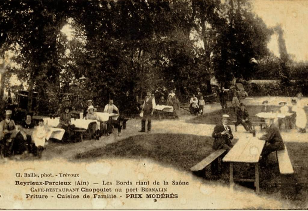 L'histoire du restaurant O2 Saône - Café Restaurant Chapoulet