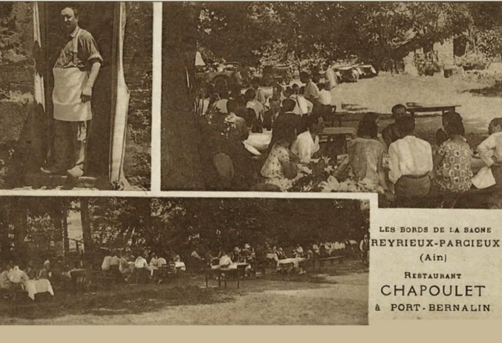 L'histoire du restaurant O2 Saône - Restaurant Chapoulet