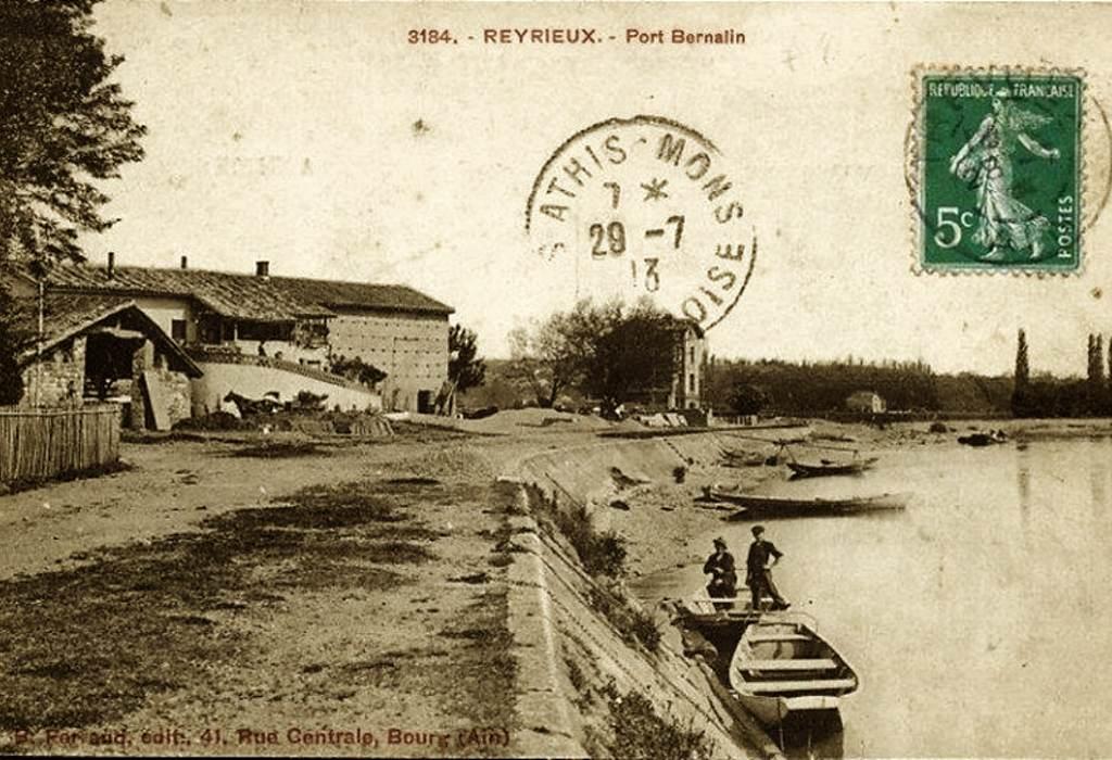 L'histoire du restaurant O2 Saône - Port Bernalin